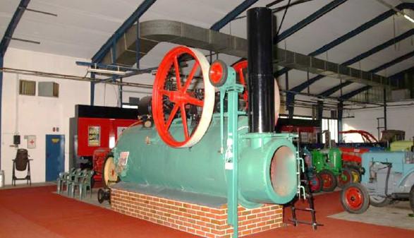 Dampfmaschine © Karl Ertler, Landtechnikmuseum