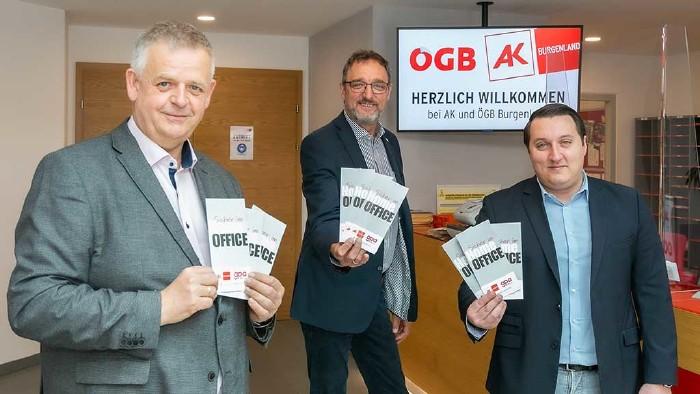 Homeoffice, Kampagne © AK Burgenland, AK Burgenland