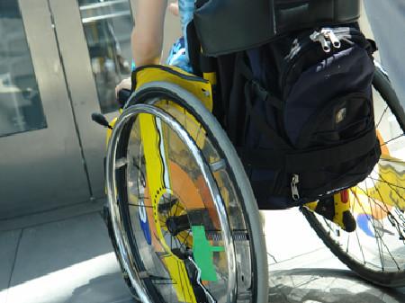 Mann im Rollstuhl © Ilan Amith, fotolia.com