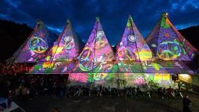 Festival Wiesen © Lichttapete, Lichttapete