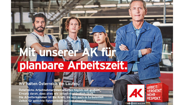 Wir halten Österreich am Laufen © AK Burgenland, AK Burgenland