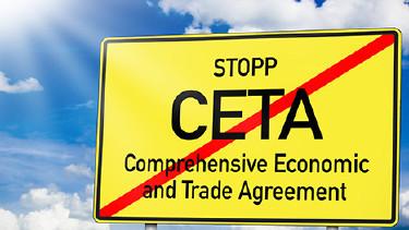 Verkehrsschild: Stopp CETA © stockWERK, Fotolia.com