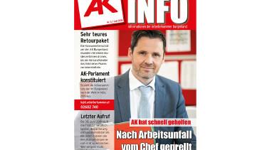 AK Info 3/2019 © AK Burgenland, AK Burgenland