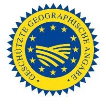 Geschützte geografische Angabe © EU, EU