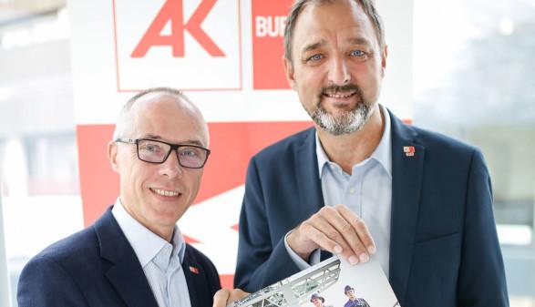 Thomas Lehner und Gerhard Michalitsch © Felder, AK Burgenland