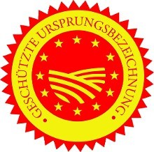 Geschützte Ursprungsbezeichnung © EU, EU