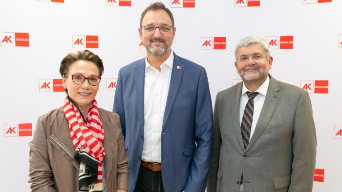 Brigitte Kulovits-Rupp, Gerhard Michalitsch und Christian Moder © Roman Felder, AK Burgenland