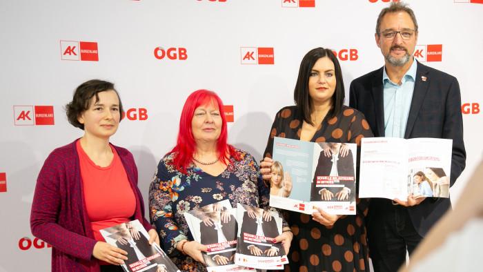 Pressekonferenz © AK Burgenland, AK Burgenland