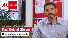 Arbeitsrechtsexperte Mag. Helmut Steiger © AK Bgld, AK Bgld