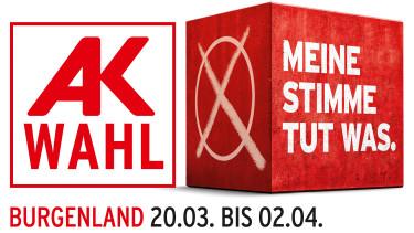 AK Wahl 2019 © AK Burgenland, AK Burgenland
